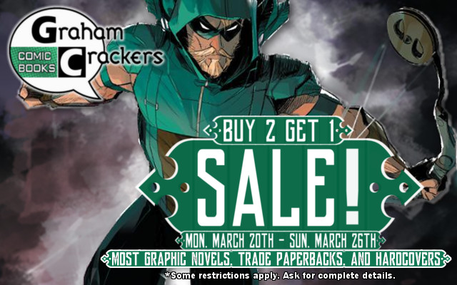 Graphic Novel Sale